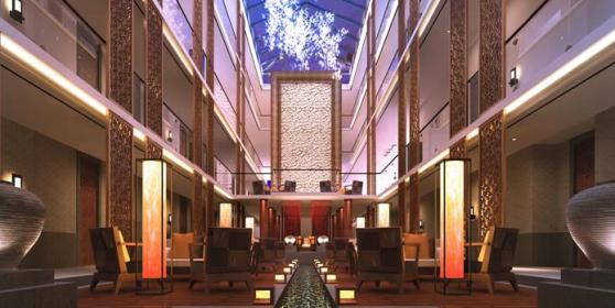 特色度假酒店装修设计案例