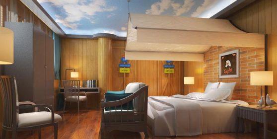 特色情侣酒店装修设计案例