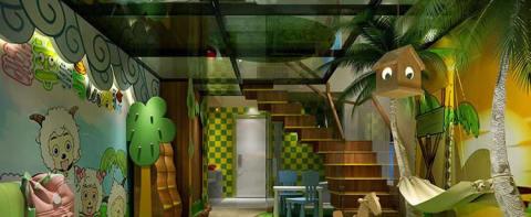 亲子酒店设计-回归童趣,探索森林密码