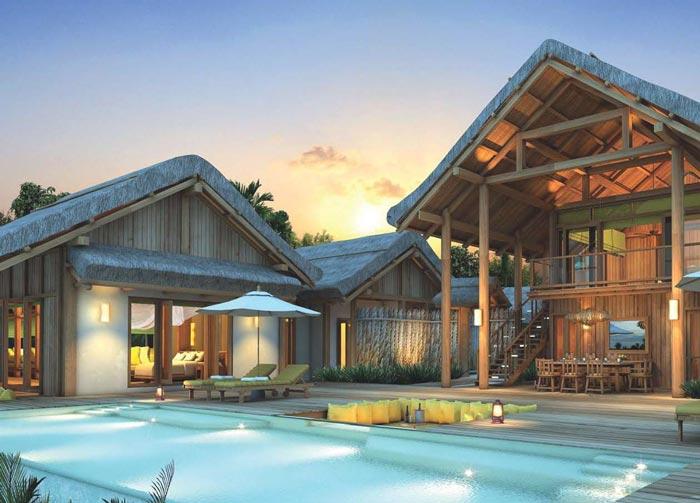 私人度假酒店装修设计案例效果图