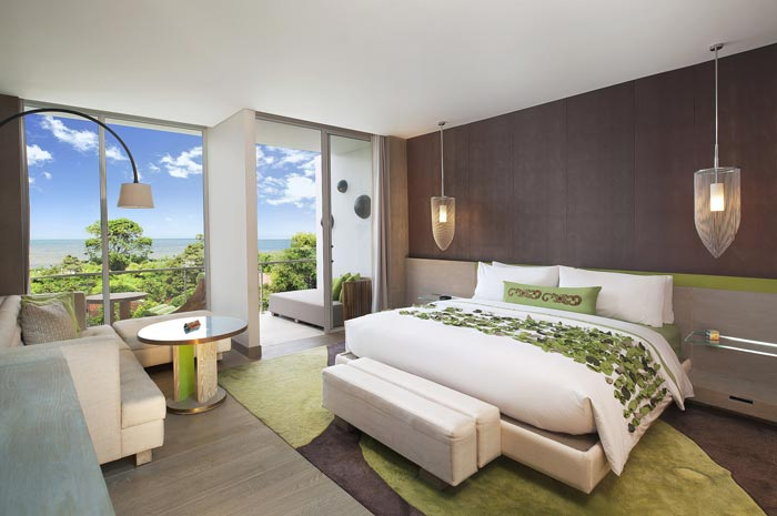 度假村酒店客房装修设计案例效果图