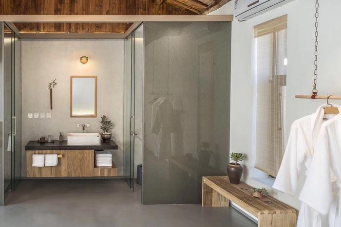 乡村精品民宿浴室装修设计效果图