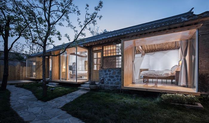乡村景区民宿客房装修设计效果图