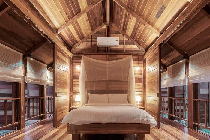 乡村文化民宿客房设计效果图